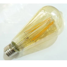 Retro LED žárovka FILAMENT E27 - Edison
