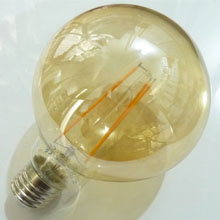 Retro LED žárovka FILAMENT E27 - kulatá