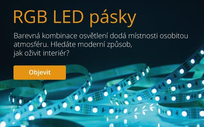 RGB LED pásky