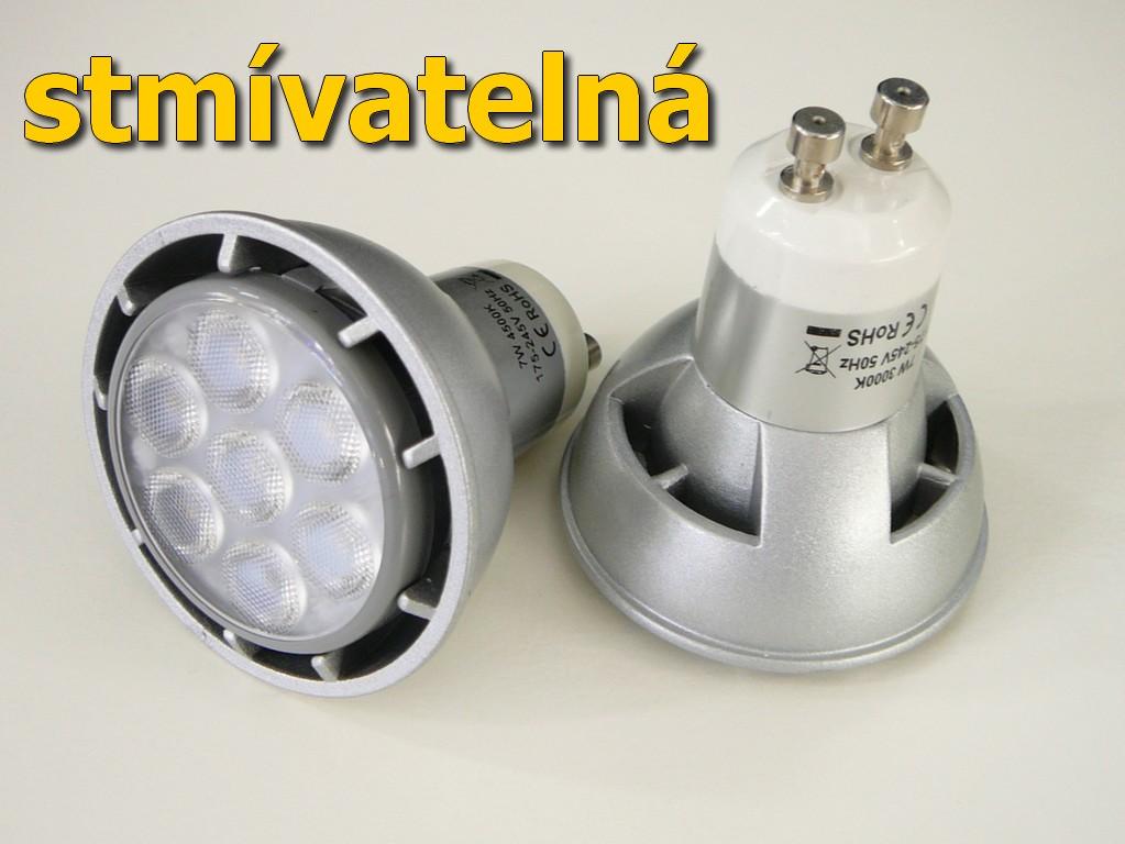ED žárovka GU10 7W